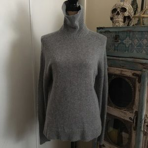 J.Crew Soft Wool Blend Turtleneck M